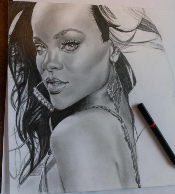 Rihanna by amandak